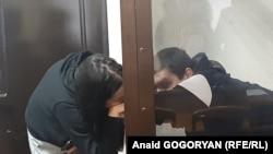 Ахра Авидзба в зале суда