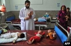 آرشیف، کودکان مبتلا به سوء تغذیه در افغانستان