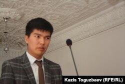 Бахытжан Акжаров, руководитель отдела информационной политики и мониторинга СМИ управления внутренней политики акимата Алматы. Алматы, 23 сентября 2013 года.