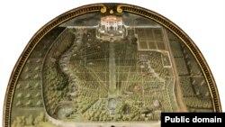План парка виллы Демидовых в Пратолино