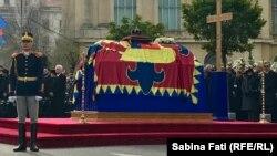 Церемония прощания с последним королем Румынии Михаем I, 16 декабря 2017 года