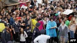 Нью-Йорктагы протест чарасы