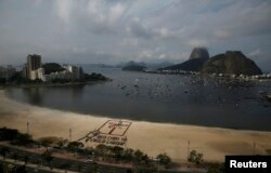 Акция протеста бразильских профсоюзов накануне открытия чемпионата мира
