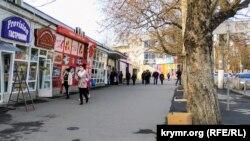 Площадь Куйбышева в Симферополе, декабрь 2020 года, иллюстрационное фото