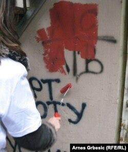 Akcija uklanjanja grafita