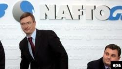 Европа больше не желает зависеть от «ненадежных поставщиков». На снимке руководители посреднической компании RosUkrEnergo