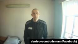 Oleg Sentsov u zatvorskoj ćeliji, 9. avgust 2018.