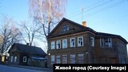 Дом купца Шабанина до пожара