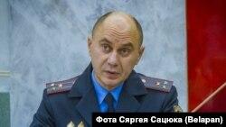 Генадзь Казакевіч, першы намесьнік міністра ўнутраных спраў