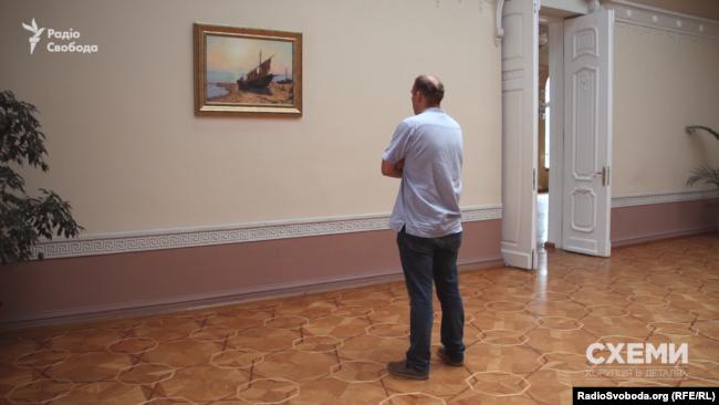 Побачити картину Пузиркова «Ранок на березі моря» виявилося недешевим задоволенням