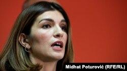 Parlamentarci nisu usvojili prijedlog Sabine Ćudić (na fotografiji, novembar 2019.)
