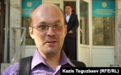 Гражданский активист Андрей Цуканов.