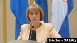 Хрватската министерка за надворешни и европски работи Весна Пусиќ.