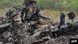 """Vendi ku u rrëzua aeroplani i 'Malaysia Airlines"""", fluturimi prej Amsterdamit për në Kuala Lumpur"""