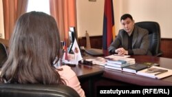 Armenia -- Speaker of Ruling Republican Party Edward Sharmazanov, Yerevan, 5April, 2017
