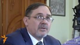 Armenia - Russian Ambassador to Armenia Ivan Volynkin.