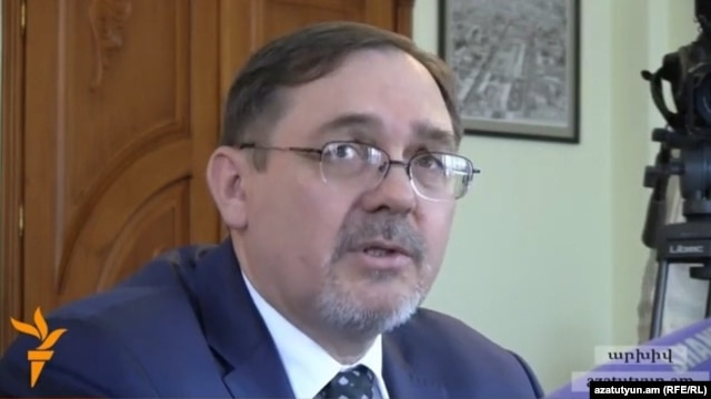 Armenia - Russian Ambassador to Armenia Ivan Volynkin
