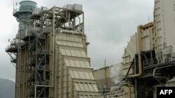 Электространция в Бербанке, Калифорния, работающая на природном газе.