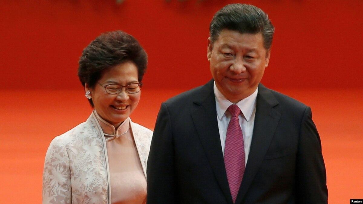 В Гонконге проходят акции накануне встречи Лем с Си Цзіньпінем