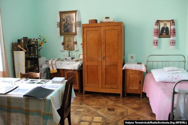 Кімната єпископа Василя Величковського, в якій висвячено понад 30 священиків УГКЦ