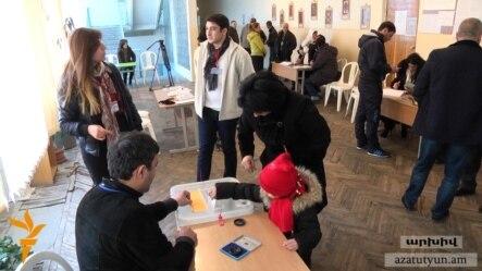Քվեարկություն Երևանում, 6-ը դեկտեմբերի, 2016թ.