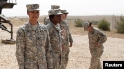 Pamje e pjesëtarëve të ushtrisë amerikane
