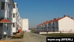 Нові будинки для переселенців із Цементної слобідки, Керч, 29 березня 2017 року