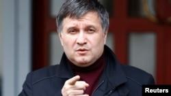 Украина ішкі істер министрі міндетін атқарушы Арсен Аваков.