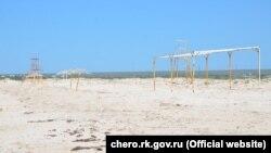 Пляж Оленівки