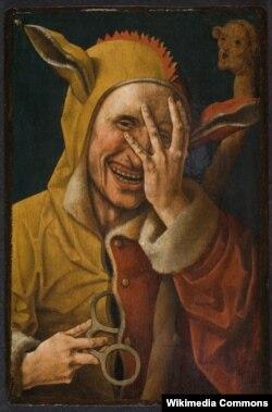 Якаб Карнэліс ван Остзанэн, «Дурань сьмяецца» (1500)