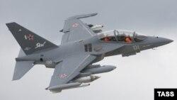 Pamje e aeroplanit luftarak rus të tipit Yak-130