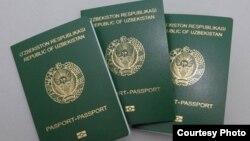 Биометрический паспорт гражданина Узбекистана.