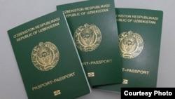 Uzbekistan - new Uzbek biometric passport