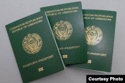 Өзбекстан биометрикалық паспорты.