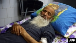 Abdul Sattar Edhi died in a Karachi hospital.