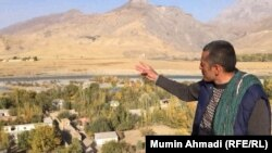 Asamuddin Mukhdum can see his ancestral homeland in Tajikistan but cannot visit.