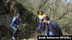 Mjesta masovnih zločina u šumama oko Bratunca, ilustracija