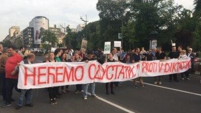Protest protiv vlasti u Srbiji u beogradu 12. maja 2017.