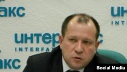 Ukraine, Kiev - a human rights activist Igor Kalyapin