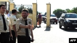 Ахмед Чатаев уже находился в зале суда, когда туда допустили публику