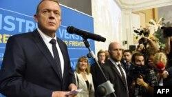 """Ларс Локке Расмуссен, лидер датской правоцентристской партии """"Венстре"""". Копенгаген, 18 июня 2015 года."""