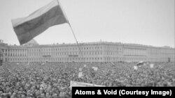 Кадр з фільму «Подія» Сергія Лозниці