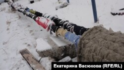 Народное утепление трубы