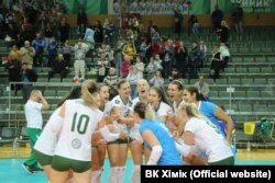 Жіночий волейбольний клуб «Хімік» вийшов у третій раунд кваліфікації Ліги чемпіонів