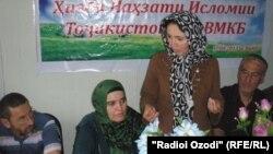 Конфронси бахши ҲНИТдар Бадахшон. 17-уми августи соли 2013.