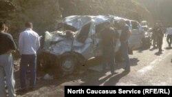 Авария в Шамильском районе Дагестана