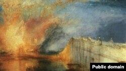 К концу творческой жизни в картинах Тёрнера всё больше преобладала необычайная игра световоздушных и колористических эффектов
