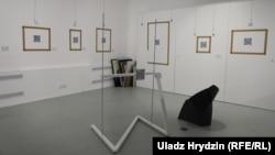Менская галерэя «Арт-Беларусь» без карцін з карпарацыйнай калекцыі банку «Белгазпрамбанк». 16 чэрвеня 2020 году