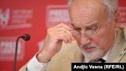 Vladimir Vukčević je bio prvi tužilac za ratne zločine od 2003. do 2015. godine