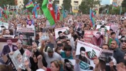 Activists Stage Rare Mass Protest In Baku
